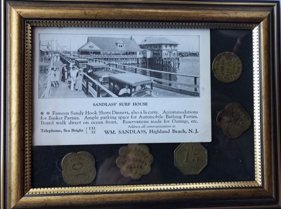 Donated by Lori Fleischmann and Family, Former members of Sandlass Beach Bungalow Colony.