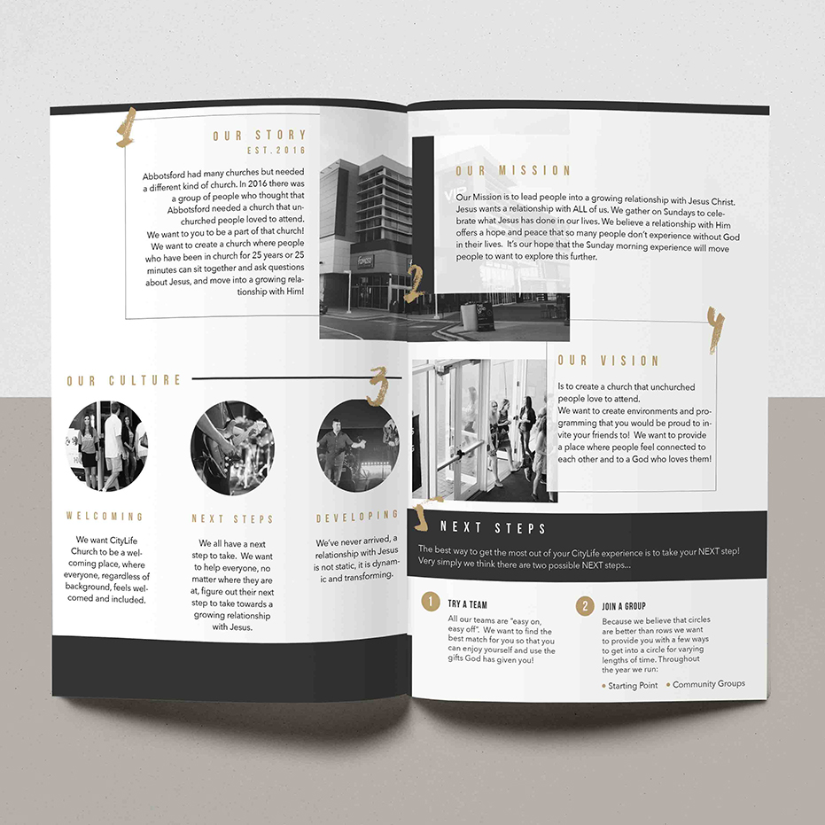 CityLife Church Brochure