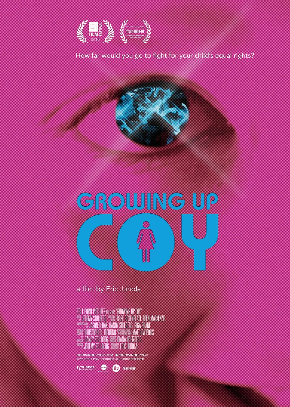Growing Up Coy - 2016, USA, 90 min, in EnglishA Colorado family is thrust into the international media spotlight when they fight for the rights of their 6-year-old transgender daughter in a landmark civil rights case.