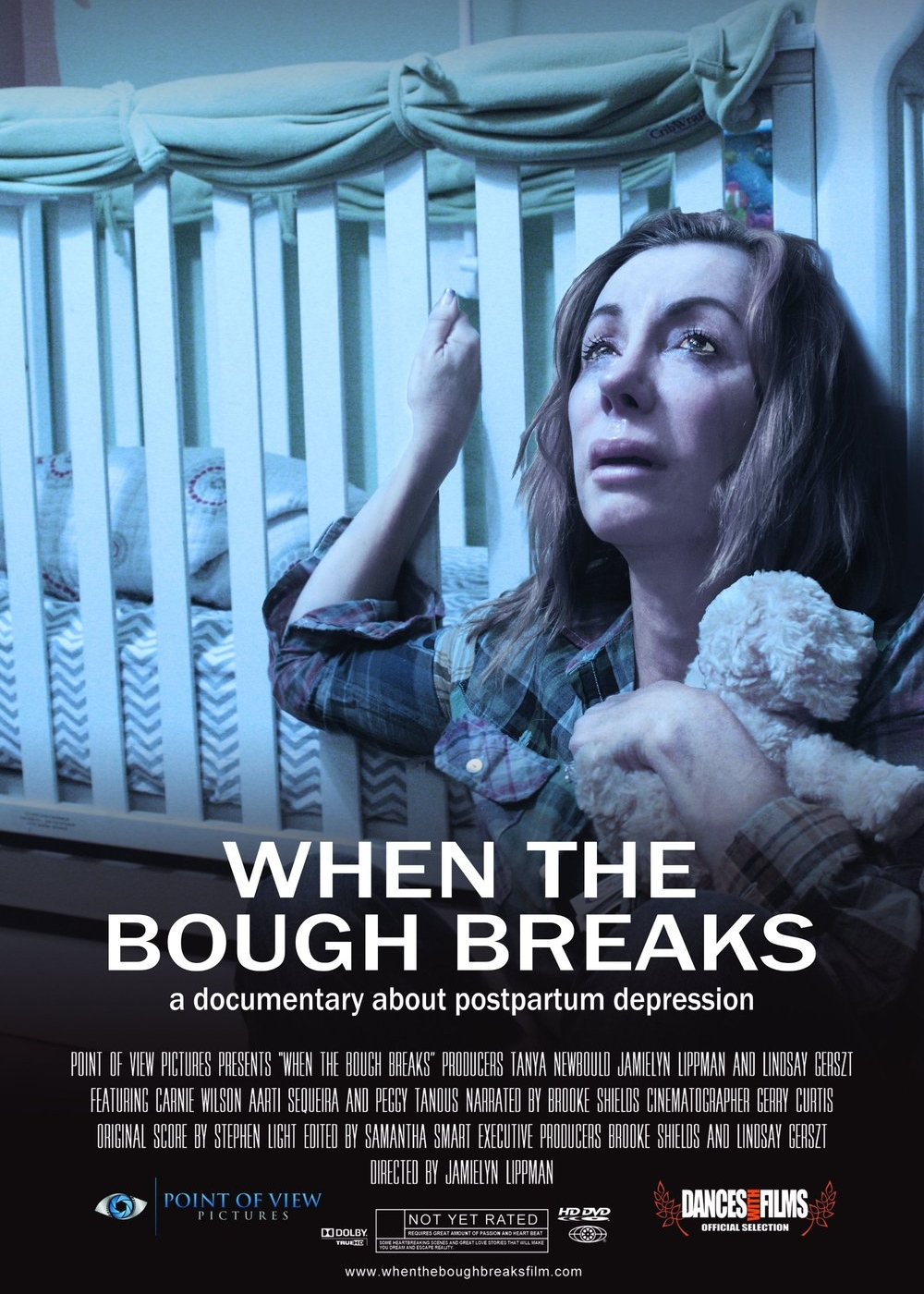 When the Bough Breaks: a documentary about postpartum depression - 2017, USA, 93 min, in EnglishWhen The Bough Breaks is a feature length documentary about postpartum depression and postpartum psychosis. Narrated and Executive Produced by Brooke Shields, this groundbreaking film uncovers this very public health issue, which affects one in five new mothers after childbirth.