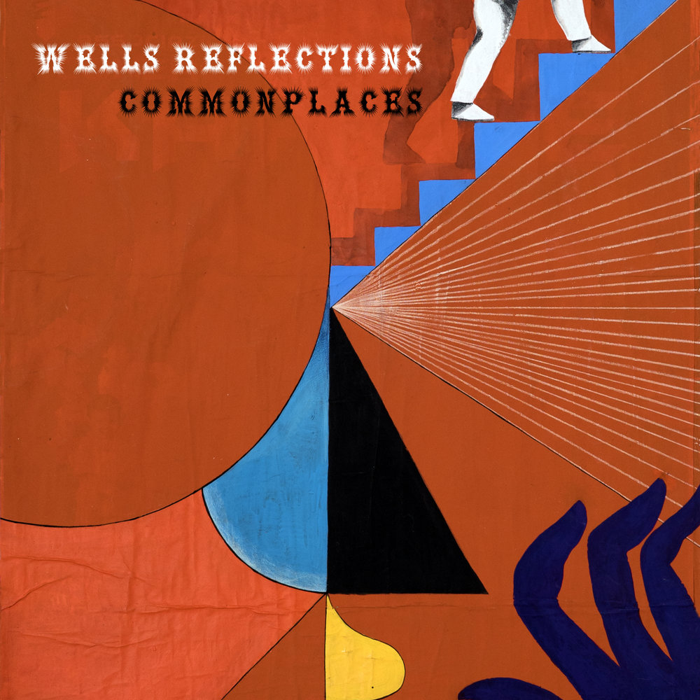 Wells Reflections  - originated from the desire to create a band interested in exploring the field of improvised music within a determined framework. The quintet, comprising percussion (Ana Gomez), tuba (Jo Gibson), vibraphone (Ian Da Preda), violin (Inês Lapa) and voice, works on original and curious compositions. Album cover by Giacomo Run