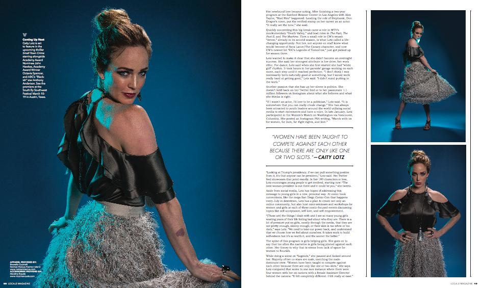 Lisa Leedy-Locale Magazine- Caity Lotz