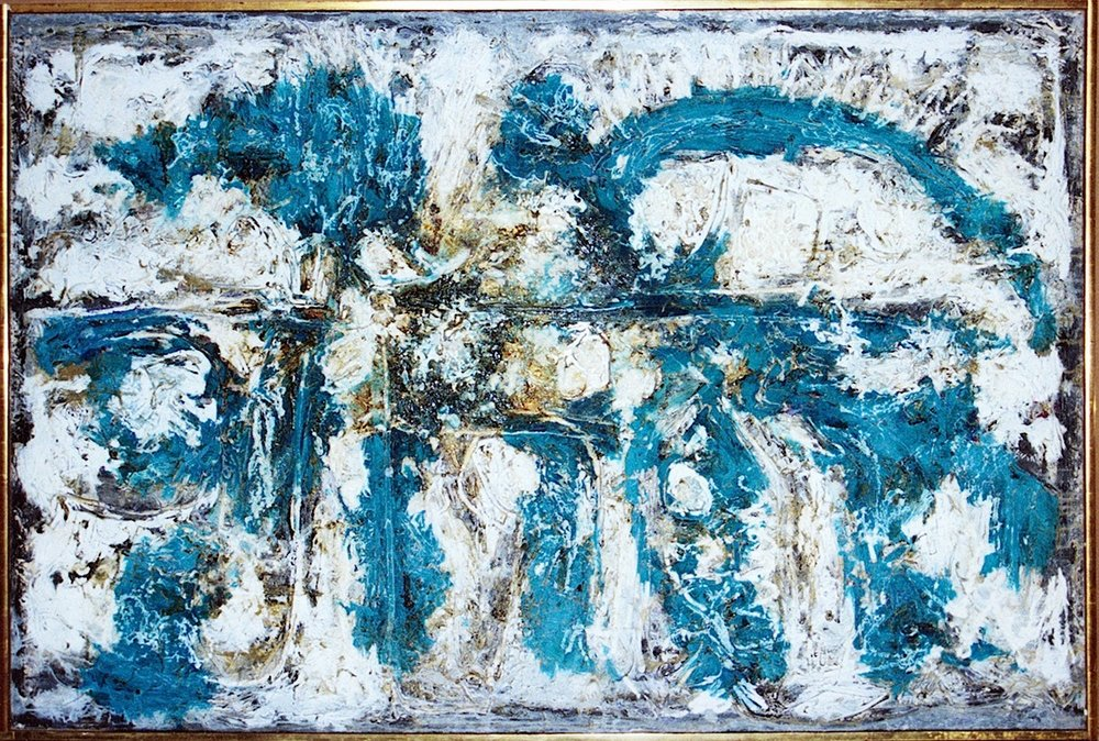 Blue Amorphous # 4
