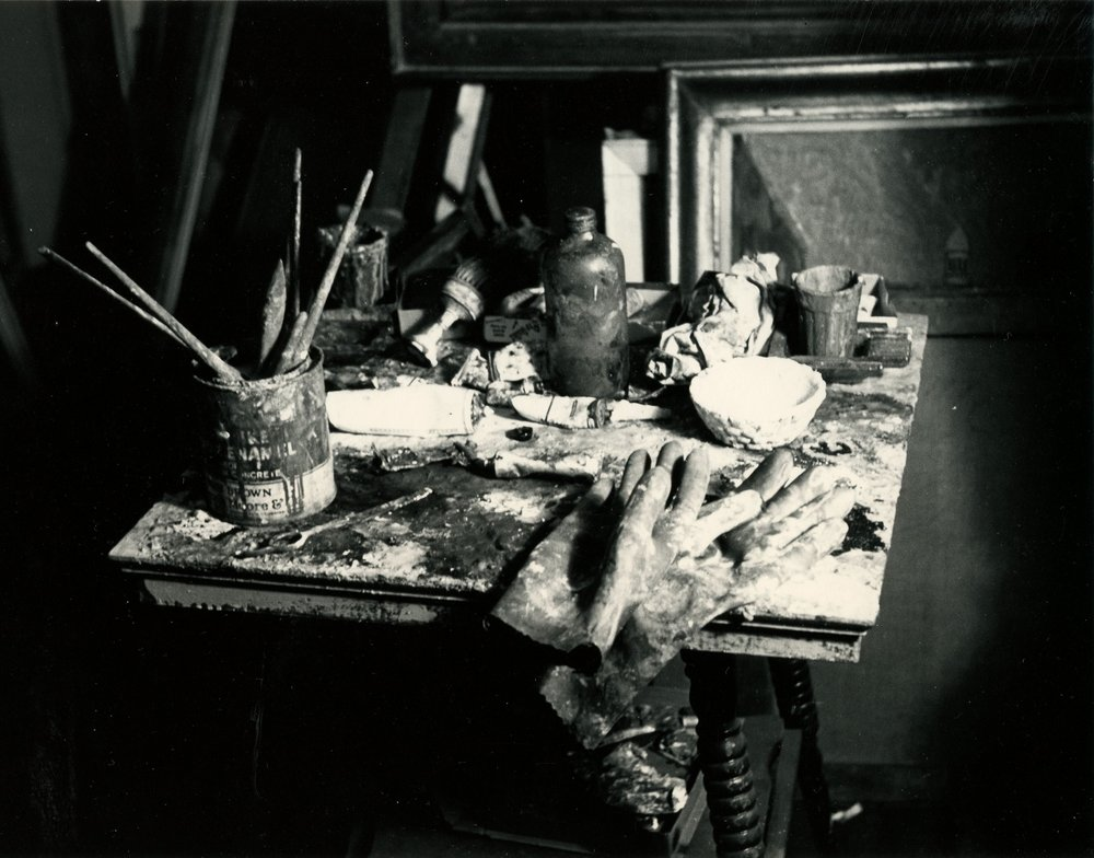 Studio of Richard Pousette-Dart