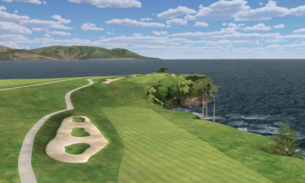 Play Smarter   Hone Your Game on Real Courses like Pebble Beach