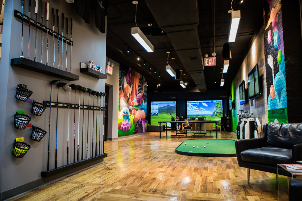 Great Location   Located at 19th & 5th, we're the newest golf spot in town