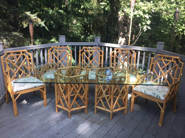 Superieur Chippendale Table And Chairs   $300