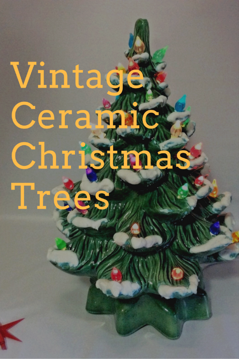 Vintage Christmas The Ceramic Christmas Tree Capitol Vintage Charm