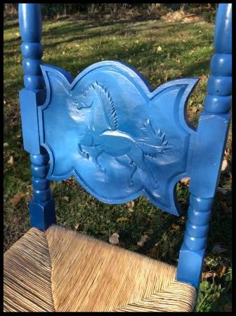 Antique Oak Desk Chairs - $20 a piece