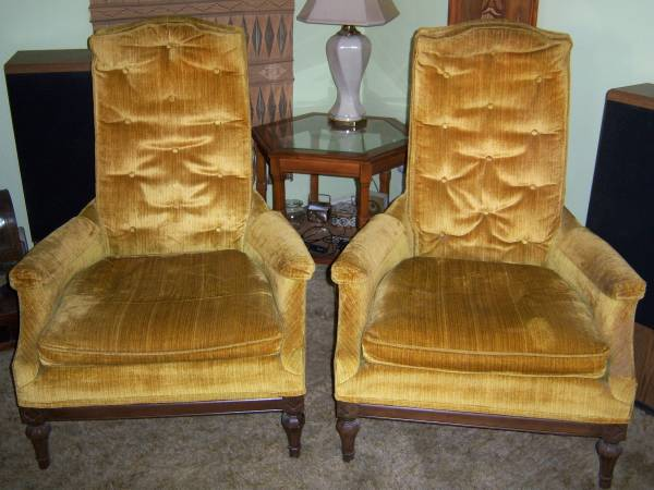 Pair of Lounge Chair - $50
