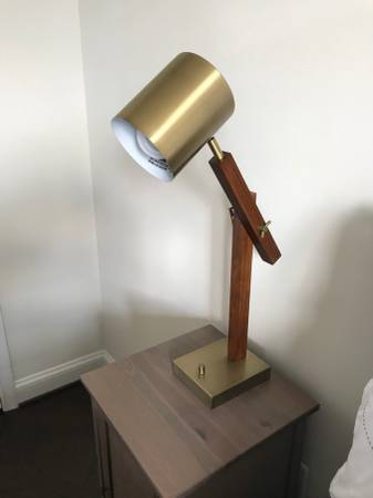 Pair of Mid Century Lamps - $50