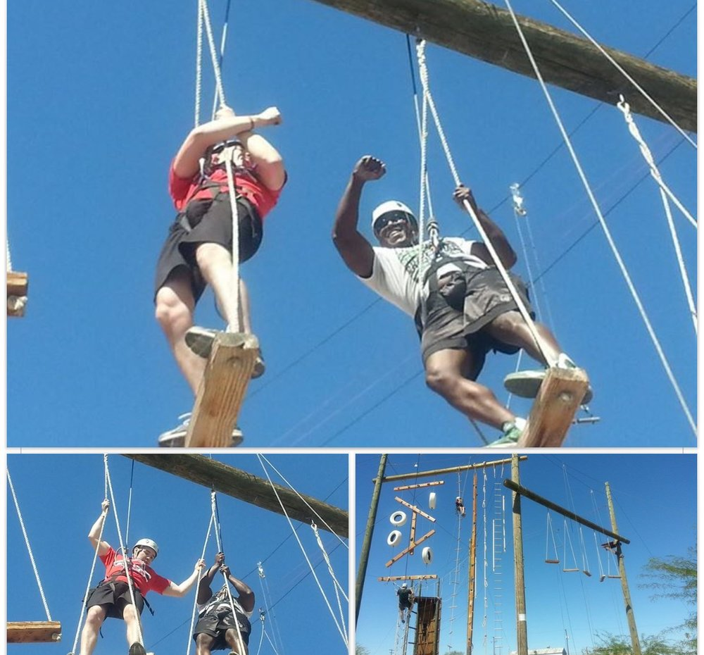4H ROPES COURSE