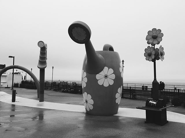 Splash Park is closed due to rainy weather! See you guys on Saturday! #asburypark #ap #boardwalk #jerseyshore