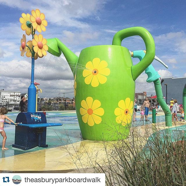 Agreed!! Come out and celebrate Sunday with us! #Repost @theasburyparkboardwalk with @repostapp. ・・・ Come on out and enjoy the splash park today! 😎 #weouthere