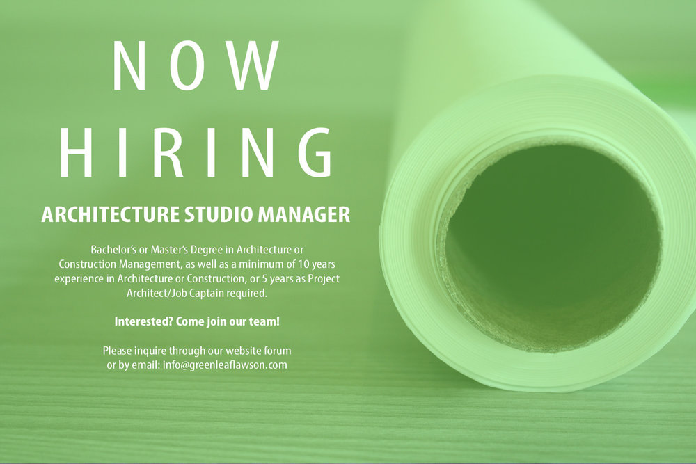 careers-at-greenleaf-lawson-architects-architecture-studio-manager