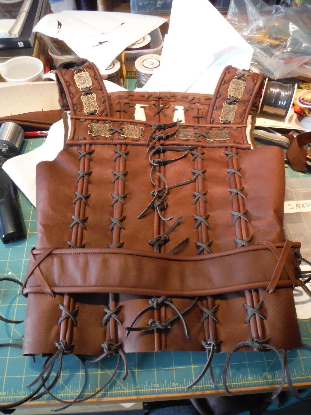 Hero - Leather Vest