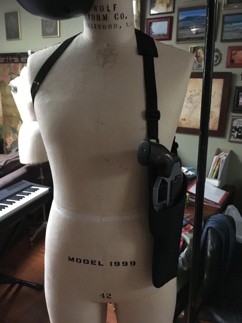 Takeshi Kovacs - Concealed Gun Holster - Process