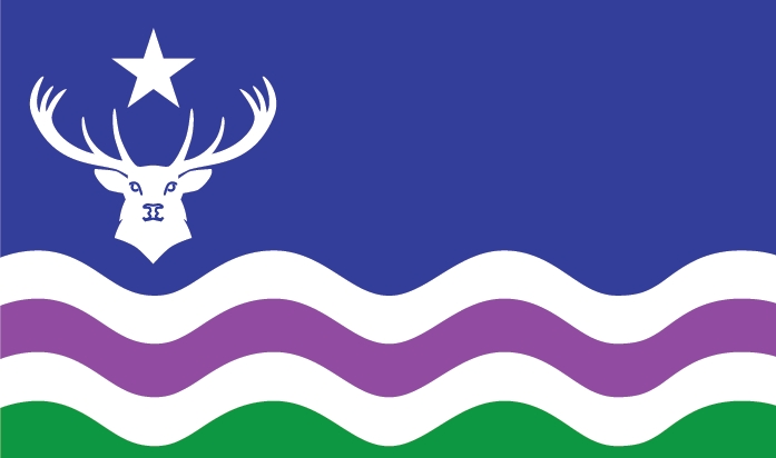 The flag of Exmoor