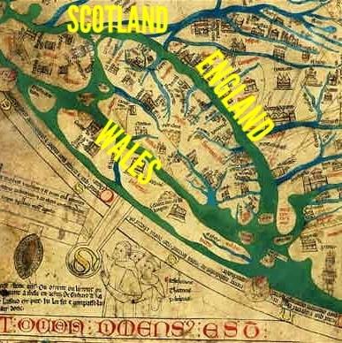 Detail of Mappa Mundi (photo: Telegraph)