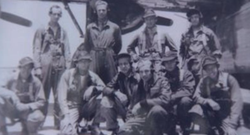 The airmen earlier in 1944 (photo: BBC)