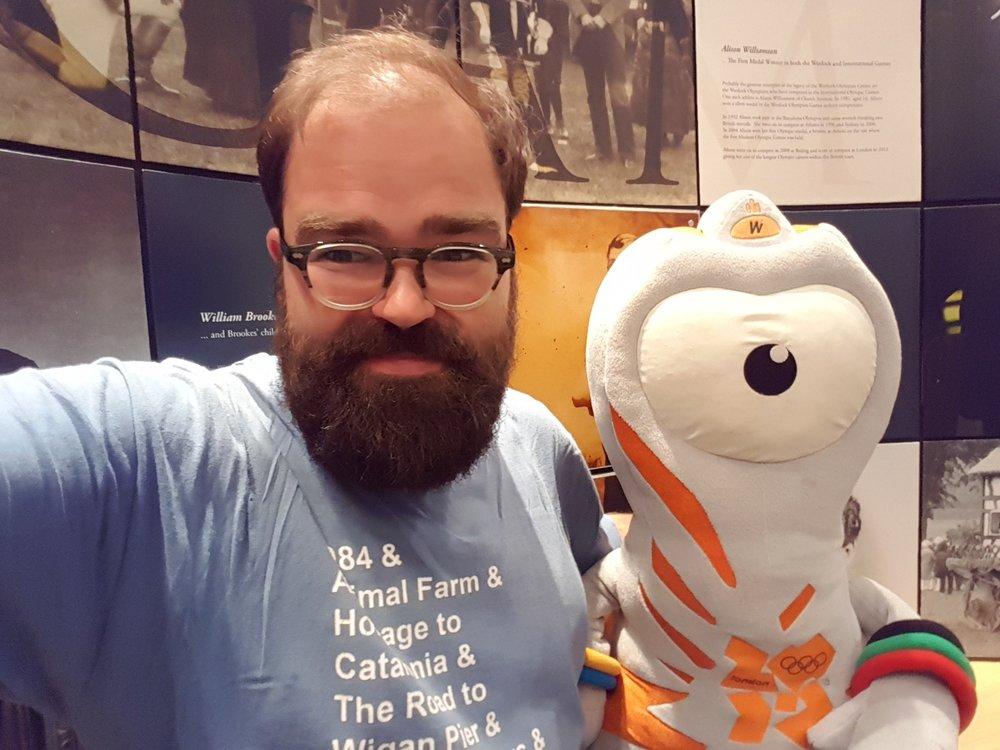 Selfie with Wenlock