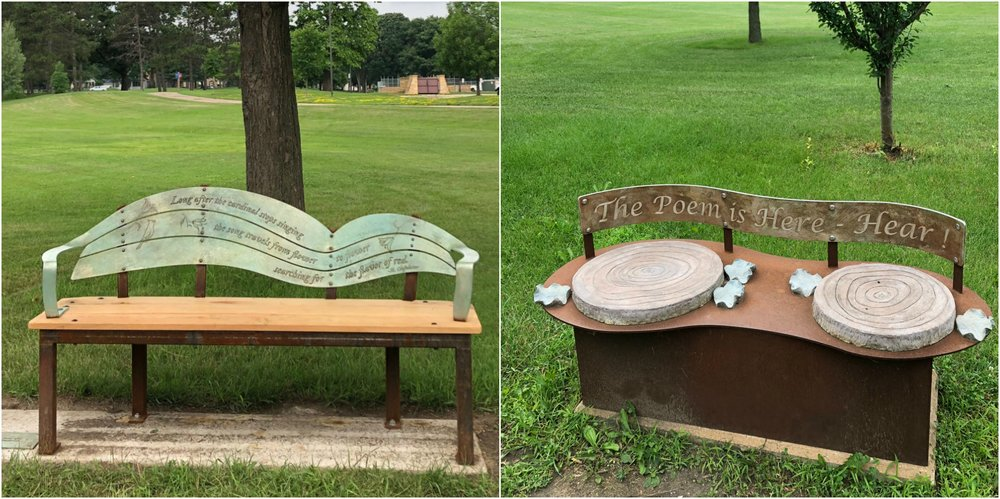 Benches by Mem Lloyd and Gita Ghei