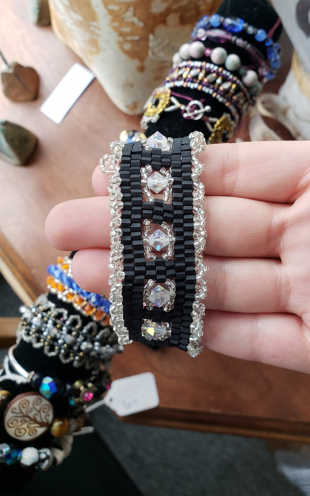 Hand-Beaded Bracelets