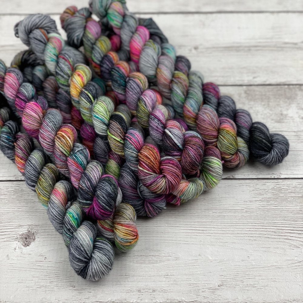 Mini Skeins - Mini skeins now available in SW Sock 80|20 & Classic Sock bases.