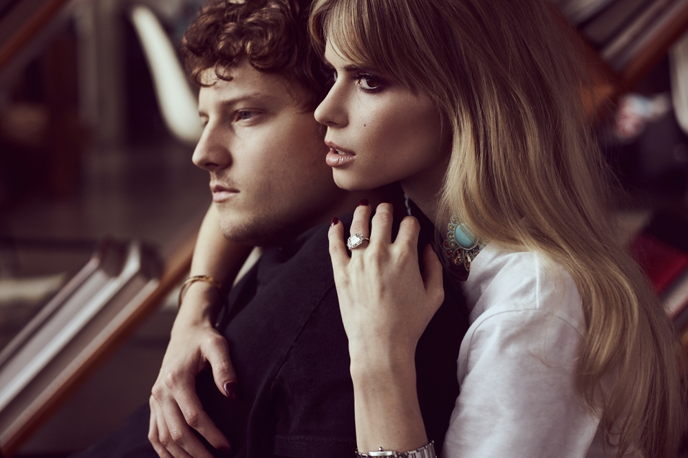 Carlson Young & Isom Innis Wedding   Photo by  Benjo Arwas