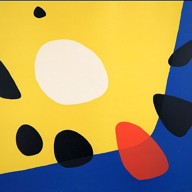 ALEXANDER CALDER Composition, 1975. Love me some #Calder. Cool new addition to the #gallery. #abstractart #alexandercalder #artforsale #pascalfineart #yasss  #composition #artcollector