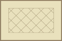 Bordered Diagonal Tile