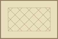 Bordered Diagonal Tile