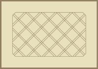 Framed Diagonal Grid