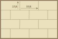 Offset Rectangular Tile