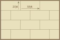 Offset Rectangular Tile