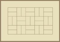 Bordered Basketweave Slate