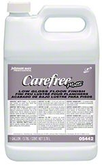 "Diversey''s "" Carefree Matte "" can be used with most concrete sealers.  The company makes its own line of commercial cleaning and hygiene products."