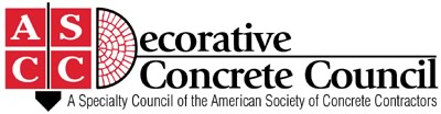 ASCC Decorative Concrete Council Logo