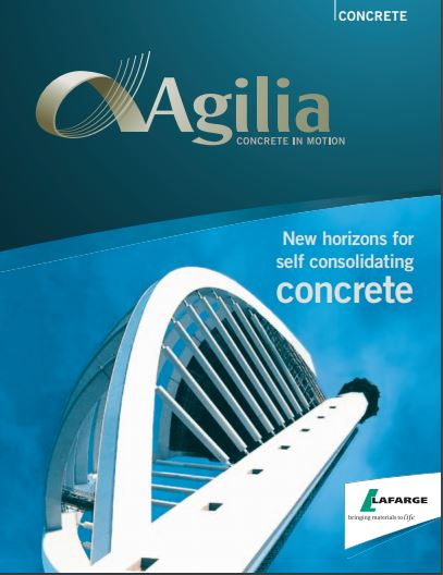 """Agilia"", used in Europe for the past decade, was just introduced to the North American market two weeks ago at the Canadian Concrete Expo."