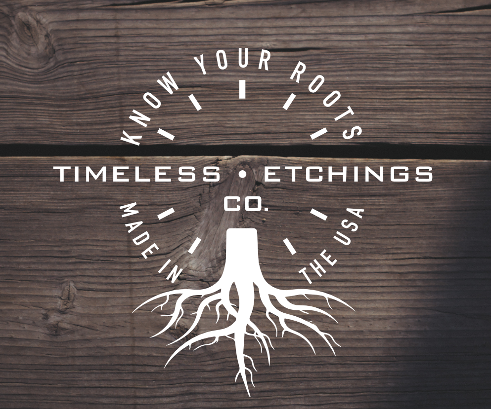 Timeless Etchings Co  — Timeless Etchings Find our Products Page