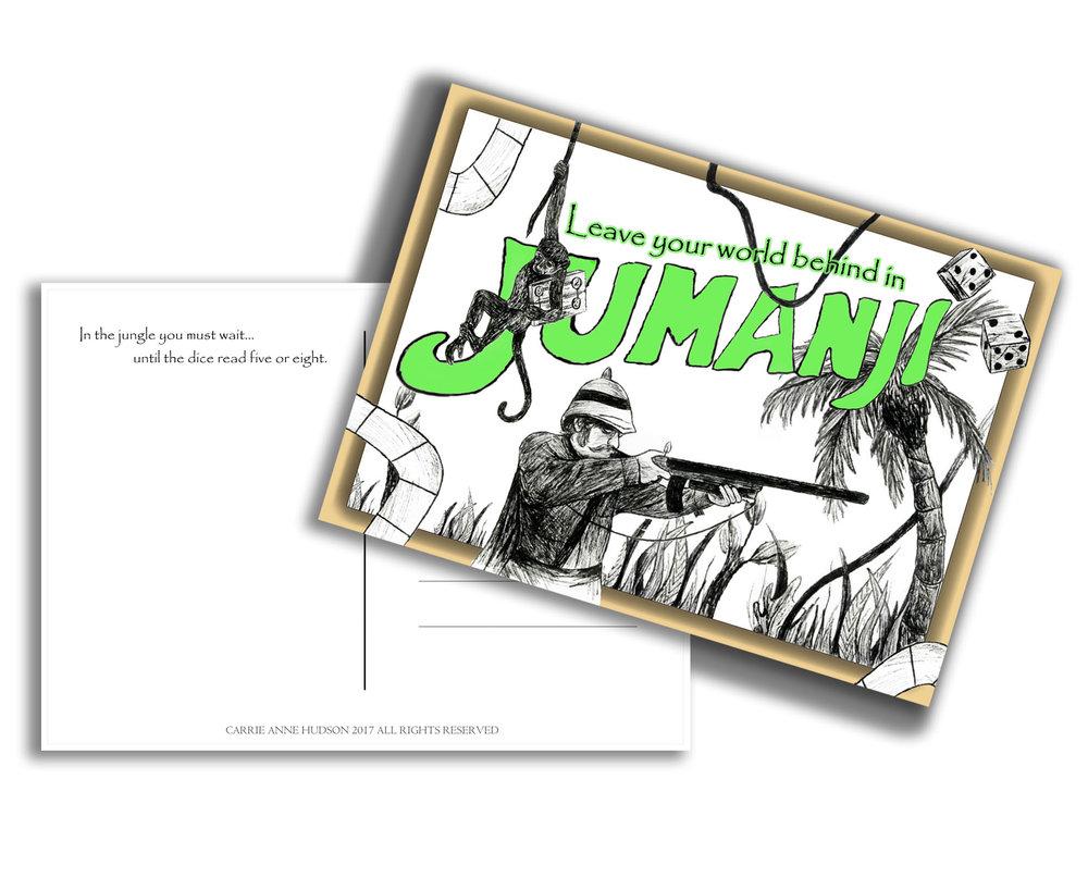 Jumanji Postcard