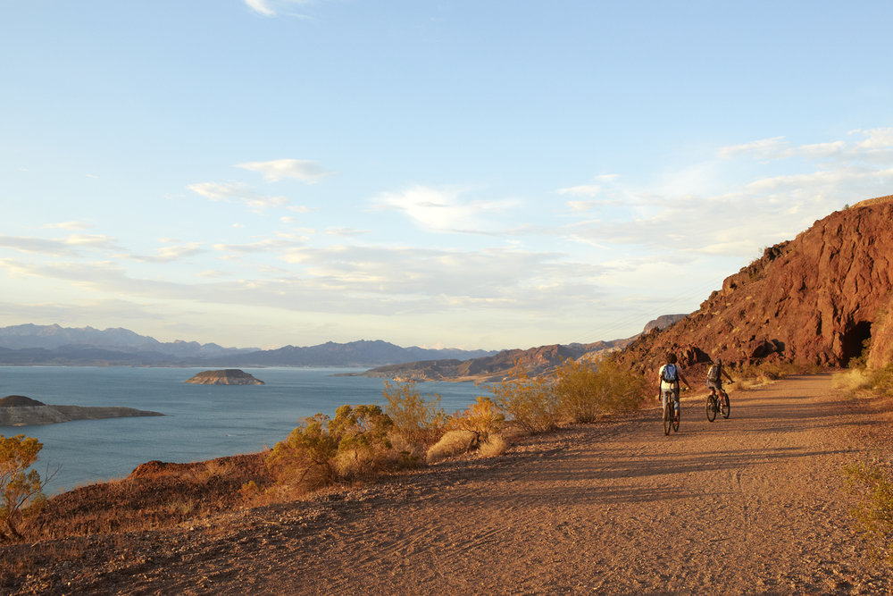 Lake Mead Bike Path