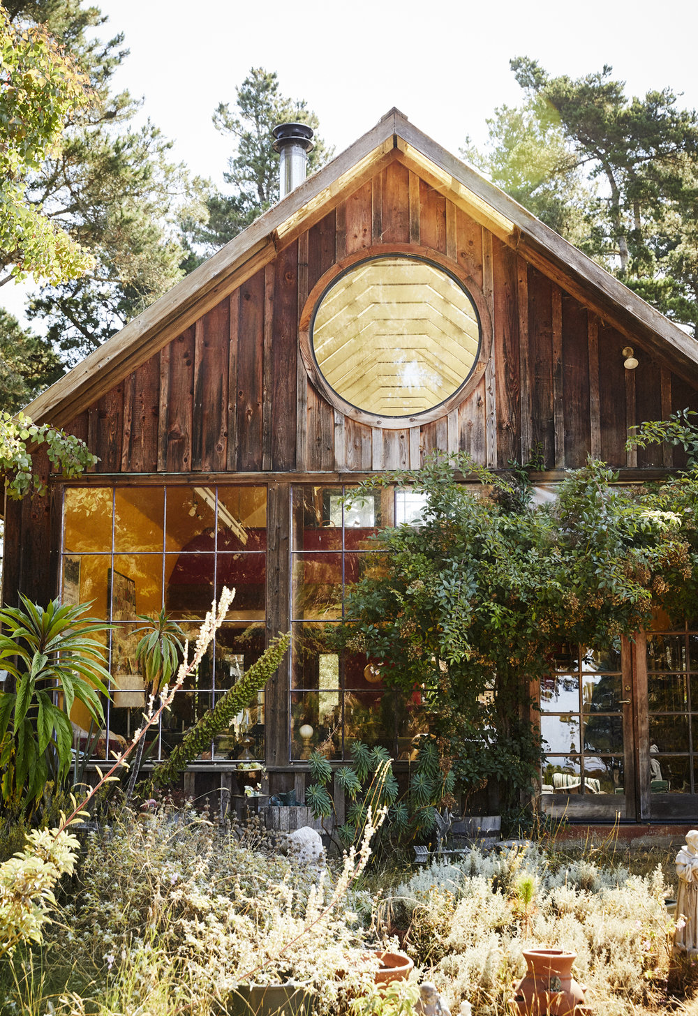 """Mendocino """"back to the land"""" story for Sunset Magazine"""