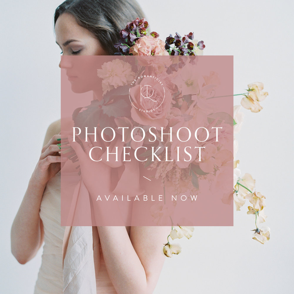 PhotoshootChecklist - Shop Romanticist