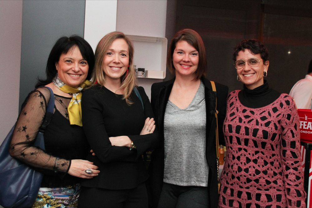 Emanuela Bosco (Comercial TV), Berta Orozco (Azteca TV), Melissa Pillow (Azteca TV), Mercedes Sanchez (Fox