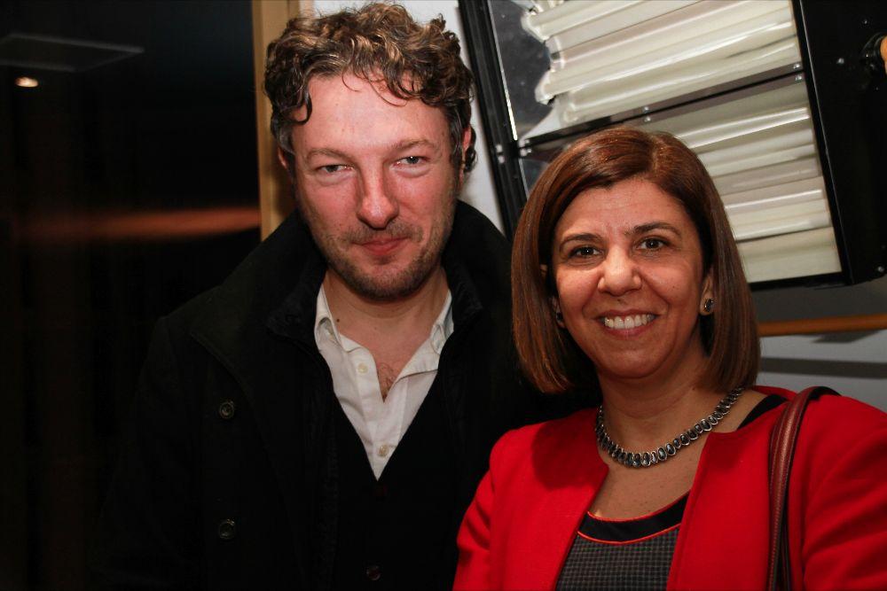 Maria Bonaria Fois and Dimitri Papanikas (Mondo TV)