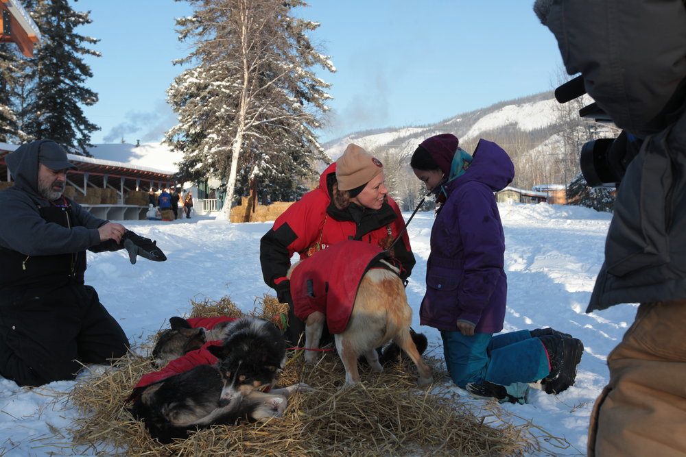 Yukon Quest/Culture Week in Eagle, February 2017