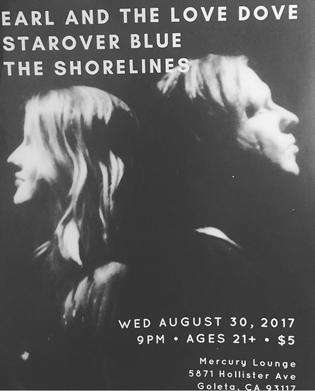 Come hang at Mercury lounge tonight with @theshorelines and @staroverblue 🖖🏼🌴🌵