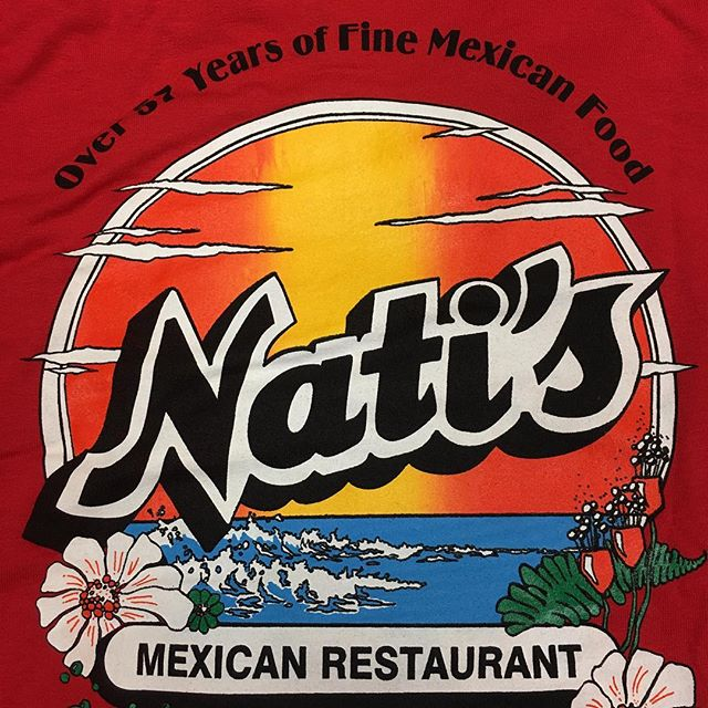 We've got brand new Nati's shirts in Sm-3XL! We also have youth sizes and Blue Tank-Tops. Come pick up some summer colors and show off your love for your favorite Mexican Restaurant! #MeetMeAtNatis