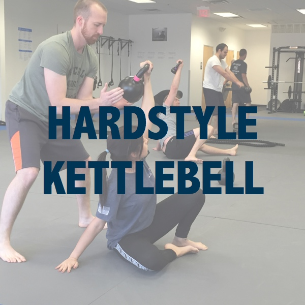 Click to learn more about our Hardstyle Kettebell strength training program.